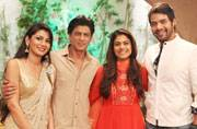Shah Rukh, Kajol, Varun, Kriti promote Dilwale on Zee TV's popular soaps