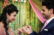 Inside pics: Divyanka Tripathi and Vivek Dahiya's engagement ceremony