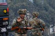 Security forces conduct search in Gurdaspur
