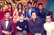 The grand finale of Bigg Boss 9 was shot in Lonavla on Friday night. Though the show will be aired tonight, ex-contestants and celebrities present there kept us posted with all the happenings. Here's a look.