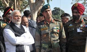 PM at Pathankot air base