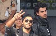 Bollywood celebrities are back to Mumbai after attending the SAIFAI Mahotsav in Etawah. From Ranveer Singh to Sonakshi Sinha, stars were spotted at the Mumbai Airport.