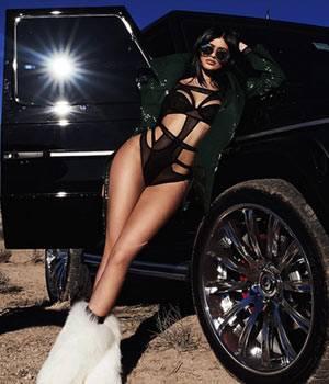 Kylie Jenner; Picture courtesy: Instagram/@sashasamsonova
