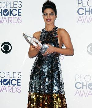 Priyanka Chopra at People's Choice Awards 2016