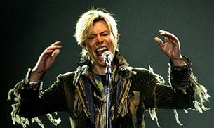 A file photo of David Bowie.