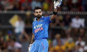 4th ODI,India vs Australia,Kohli century,Dhawan century,Aaron Finch,Kane Richardson