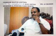 Kumaraswamy and his love for expensive watches