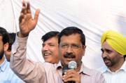 Kejriwal in Punjab says Akali's have no moral right to rule