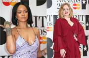 Brit Awards 2016: Adele and Rihanna go glam on the red carpet