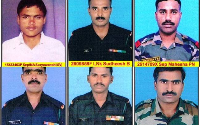 Names of the 10 soldiers who laid their lives in the line of duty on February 3 owing to a deadly avalanche in the Siachen Glacier were released on Friday by the Ministry of Defence.