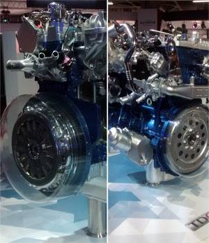 Auto Expo 2016: Engines on display at Auto Expo 2016
