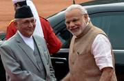 Nepal PM KP Oli arrives on a 6-day India visit