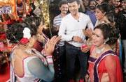 Veteran singer Sonu Nigam will step into the shoes of Puja Samagri seller Raju Khirade--who's suffering from HIV--for a day to raise funds for him.