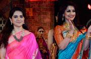 Sonali Bendre, Make in India, Maharashtra Textile Day, Shaina NC, Anita Dongre