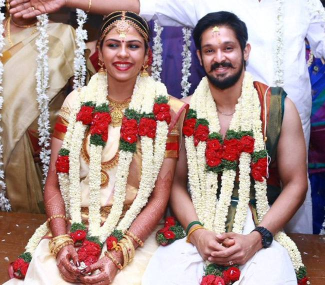 Tamil Actor Nakul Ties The Knot With Sruti Here Are The Photos