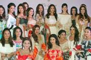 Sana, Shriya, Bhagyashree walk the ramp for Maheka Mirpuri in support of the Terry Fox run