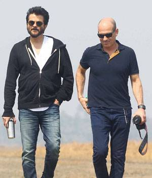 Anil Kapoor, who will be returning to the small screen with the second season of action series 24 this summer, has started shooting for the show.