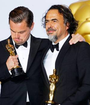 Leonardo DiCaprio has won his first Oscar this year. The 41-year-old seems to be on a winning spree, after picking up the Golden Globe, the SAG Award, the Critics' Choice Award, the BAFTA Award and the Academy Awards for his role in The Revenant.