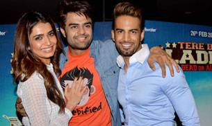 Manish Paul's second Bollywood film Tere Bin Laden: Dead or Alive hit the screens today. A premiere was held for the same on Thursday which was attended by Paul's friends from the TV industry.