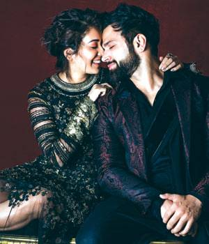 In an exclusive to Bazaar Bride, the 'it' couples of Indian television reveal what makes them tick, as they light up the sartorial sky in cocktail couture.
