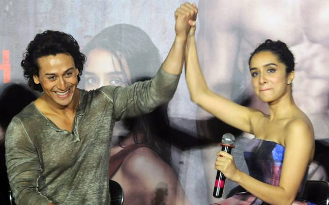 Tiger Shroff and Shraddha Kapoor, along with the team of Baaghi, launched the trailer of the film in Mumbai on March 14.