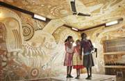 Japanese, Indian artists transform this school in Bihar with exquisite wall art