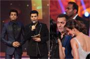 This year's Colors Golden Petal Awards was a star-studded extravaganza with Bollywood celebs Salman Khan, Anil Kapoor, Arjun Kapoor, Madhuri Dixit and Karan Johar gracing the event.