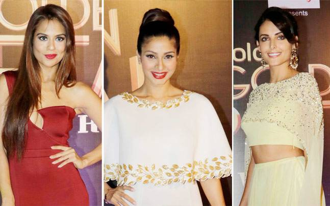 A host of TV celebs walked the red carpet at this year's Colors Golden Petal Awards held in Mumbai on March 6. Take a look.