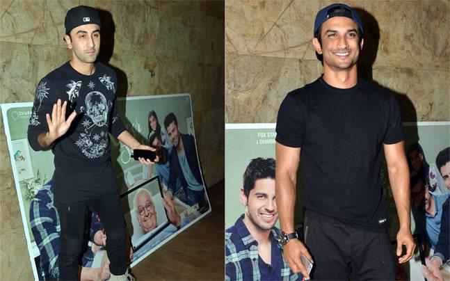 While Alia Bhatt, Sidharth Malhotra and Fawad Khan are busy promoting their upcoming film Kapoor and Sons, their B-Town friends came to cheer for the trio at the screening of the film.