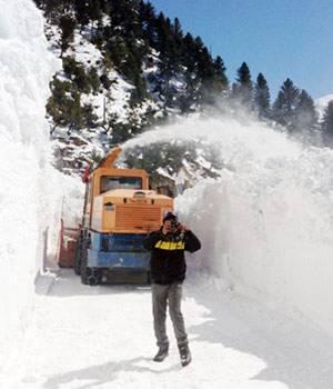 Srinagar-Kargil highway