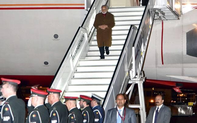 Modi in Brussels