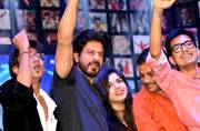 Fan: When Shah Rukh Khan greeted his real-life fans at the trailer launch