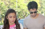 Celeb Spotting: Sidharth-Alia on a promotional spree, Ranveer snapped outside Zoya Akhtar's house