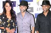 Spotted: Raghu Ram, Rannvijay Singha, Anita Hassanandani at the launch of Liftiee app
