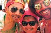 Holi is the festival of colours and Bollywood celebrities like Varun Dhawan, Salman Khan and Kriti Sanon celebrated this festival in its colourful glory. And Holi celebrations, both off or on the big screen, for Bollywood has always been an integral part.