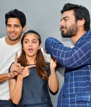 Kapoor and Sons hottest trio - Fawad Khan, Alia Bhatt and Sidharth Malhotra have been the talk of the town ever since the first look of the film came out. And the three are busy raising the temperature during the promotional spree.