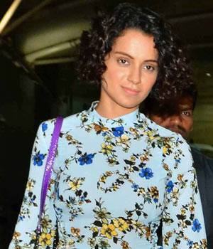 Kangana Ranaut and Shahid Kapoor returned to Mumbai from the shoot of their upcoming film Rangoon. A bevy of stars including Alia Bhatt, Varun Dhawan were also spotted at the different locations in Mumbai.
