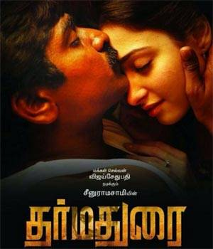 Dharmadurai, directed by Seenu Ramasamy, is an upcoming commercial entertainer set in a rural village. The film has an ensemble cast of Vijay Sethupathi, Tamannaah Bhatia, Srushti Dange, Aishwarya Rajesh and Sshivada.