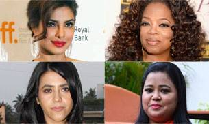 Showbiz, like every other industry, has always been dominated by men. However, some women have carved a niche for themselves without following the so-called rule book. On International Women's Day, here's looking at those who've made a name for themselves