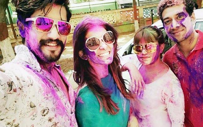 Here's how your favourite TV celebrities celebrated Holi.