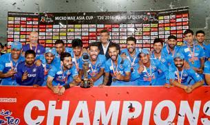 Asia Cup T20,MS Dhoni photos,Asia Cup photos,Virat Kohli photos,Shikhar Dhawan photos,Jasprit Bumrah photos,India vs Bangladesh photos
