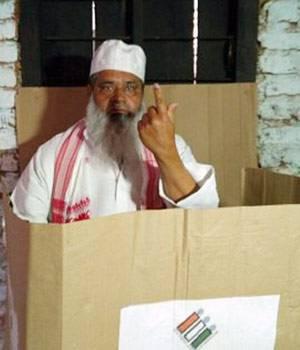(AIUDF) chief Badruddin Ajmal.