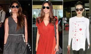 Malaika Arora Khan, Kareena Kapoor Khan, Esha Gupta