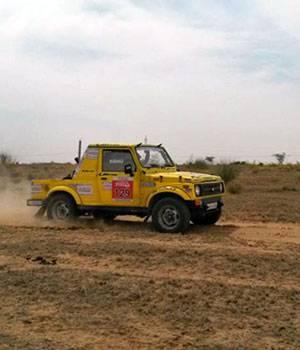 Maruti Suzuki Desert Storm rally 2016
