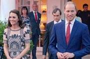 Royal couple gets grand welcome in India