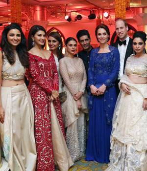 The royal couple, Prince William and his wife Kate Middleton, is in India on a seven-day tour. And Bollywood stars queued up to meet the British Royals at the gala dinner. From SRK to Aishwarya Rai, B-Town extended a warm welcome to the royal couple.