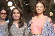 Ahalya actress, Radhika Apte at Lakme Fashion Week.