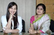 TV actress Shilpa Shinde, who has been replaced by Shubhangi Atre as Angoori Bhabhi on the popular sitcom Bhabi Ji Ghar Par Hai, held a press conference with MNS' Shalini Thackeray on Friday, about the controversy surrounding her exit from the show.