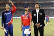 Delhi Daredevils photos,Gujarat Lions photos,Suresh Raina photos,Brendon McCullum photos,Dwayne Smith photos,Chris Morris photos,IPL 2016 photos,Zaheer Khan photos