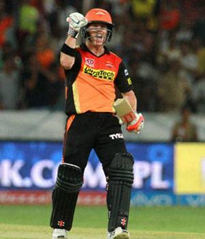 IPL 2016,SRH,David Warner,Mumbai Indians,Warner IPL photos,Sunrisers Hyderabad photos,Barinder Sran photos,Rohit Sharma photos,Krunal Pandya photos,Ambati Rayudu,Rana Daggubati IPL